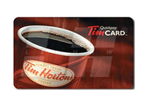 $100 Tim Horton's Gift Card